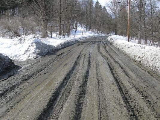 Vermont mud, March 14th (2)