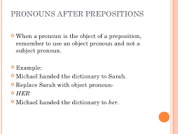 objectpreposition